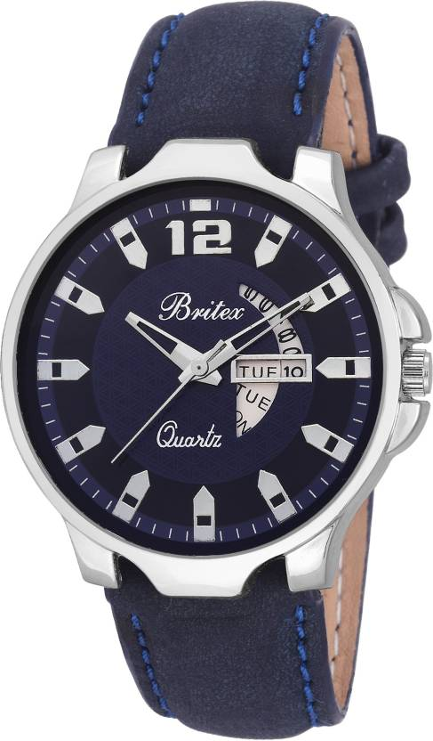 Britex BT6192 Day and Date Functioning Watch - For Men