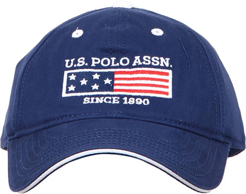 ac4a93b6a67 U.S. Polo Assn Solid Round Cap - Buy U.S. Polo Assn Solid Round Cap Online  at Best Prices in India