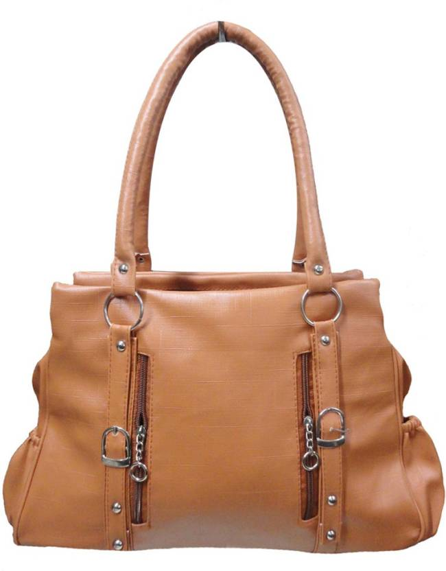 Buy Aj style Shoulder Bag tan Online   Best Price in India ... c939d59645