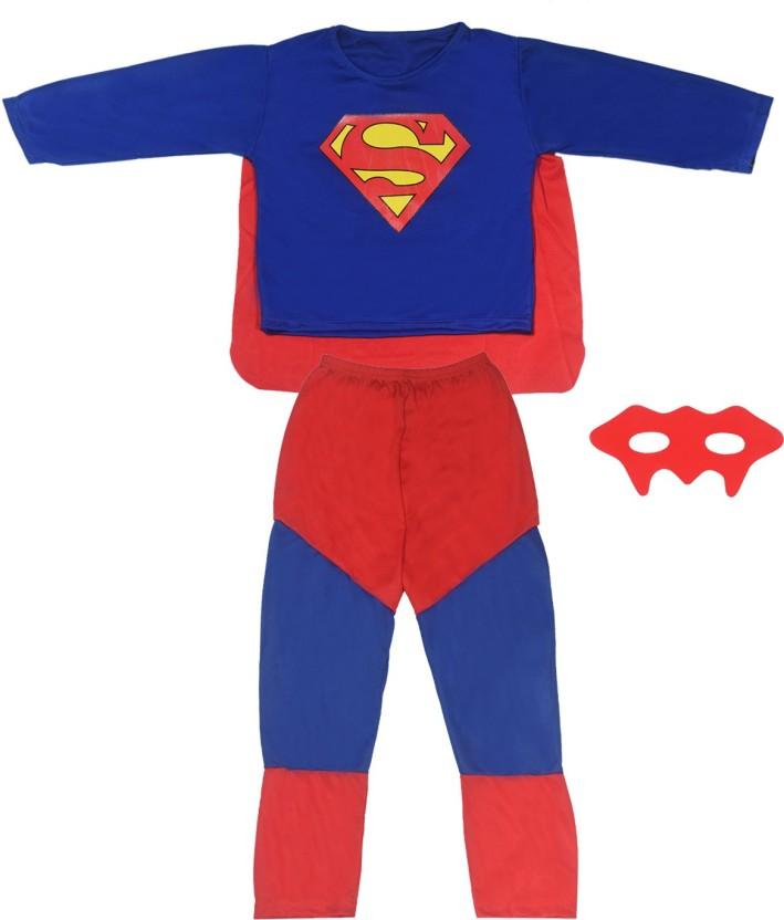 WTR Superman Superhero Fancy Dress Kids Costume Wear  sc 1 st  Flipkart & WTR Superman Superhero Fancy Dress Kids Costume Wear Price in India ...
