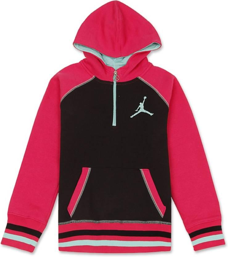 1dfa494bd2f876 Jordan Kids Girls Cotton Polyester Blend Sweater Top Price in India ...