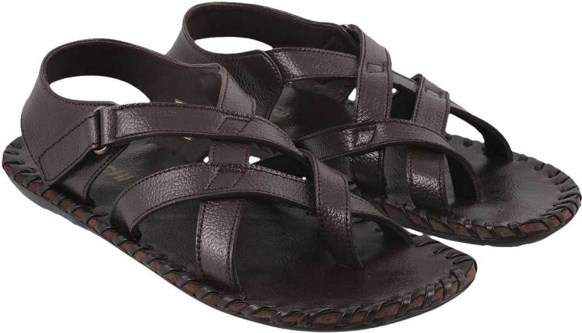 dc8f06b828b Mochi Men Brown Sandals - Buy Mochi Men Brown Sandals Online at Best Price  - Shop Online for Footwears in India
