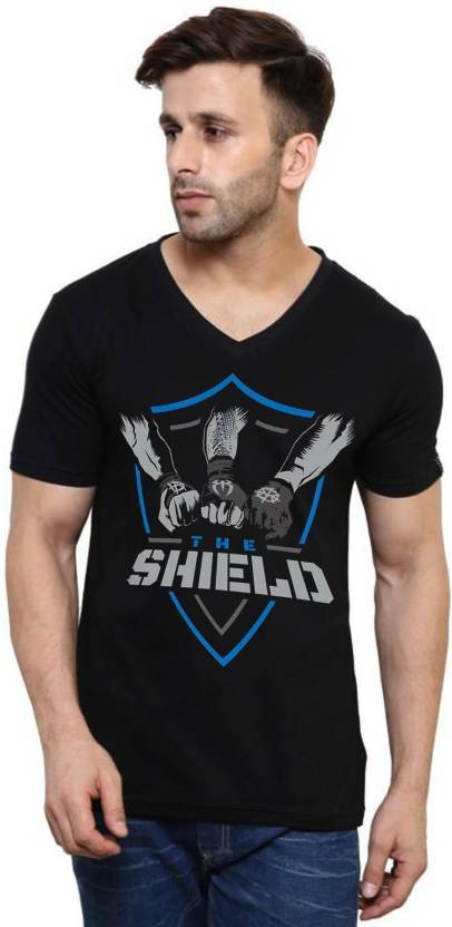 15a96d35 wwe tshirts Printed Men's V-neck Multicolor T-Shirt - Buy wwe tshirts  Printed Men's V-neck Multicolor T-Shirt Online at Best Prices in India |  Flipkart.com