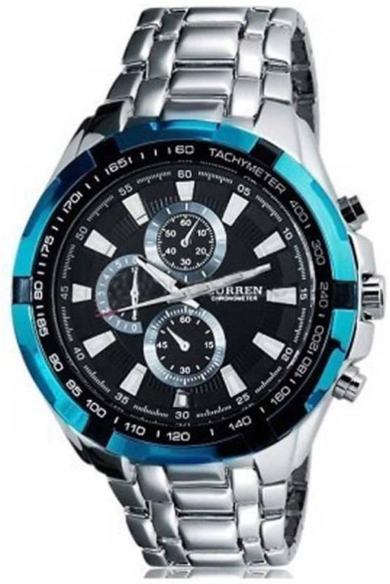 Curren Watch Cur Blue Edge For Men