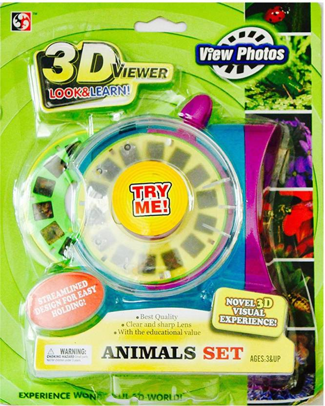 Toys Factory Kids 3D Viewer Look&Learn Price in India - Buy