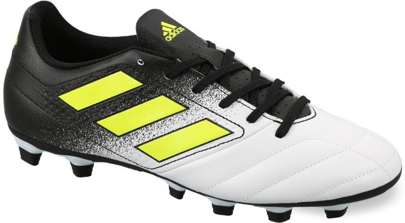 new style b8f1d d9980 ADIDAS Ace 17.4 FXG Football Shoes For Men (White)