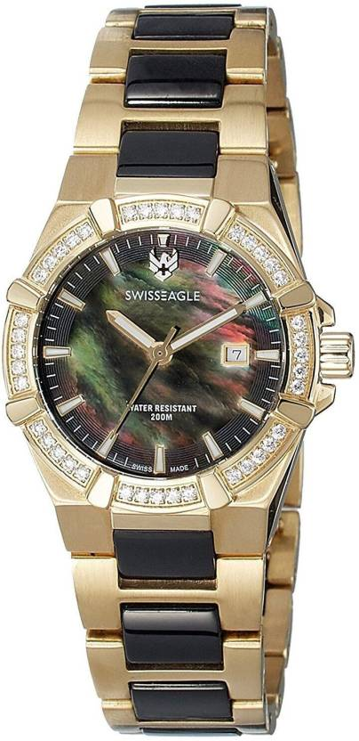 Swiss Eagle SE-6041-4M Watch  - For Women