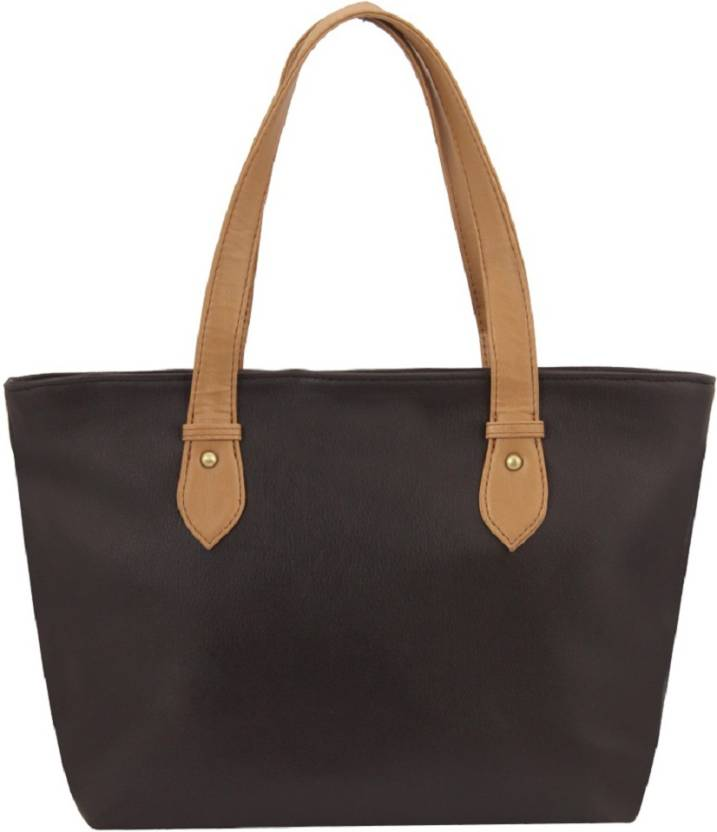 4099eb7f1c Buy Bagsy Malone Hand-held Bag Brown Online   Best Price in India ...