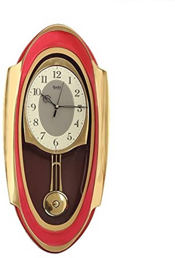 47f1fbb4d74 Ajanta Analog 21 cm X 21 cm Wall Clock Price in India - Buy Ajanta ...