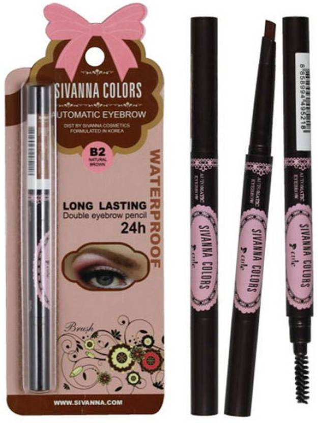 Sivanna Long Lasting Automatic Eyebrow Pencil Price In India Buy