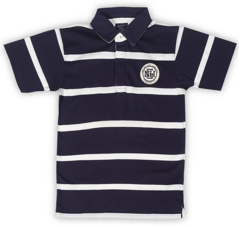 fb7eceafa03 Gant Boys Striped Cotton T Shirt Price in India - Buy Gant Boys ...
