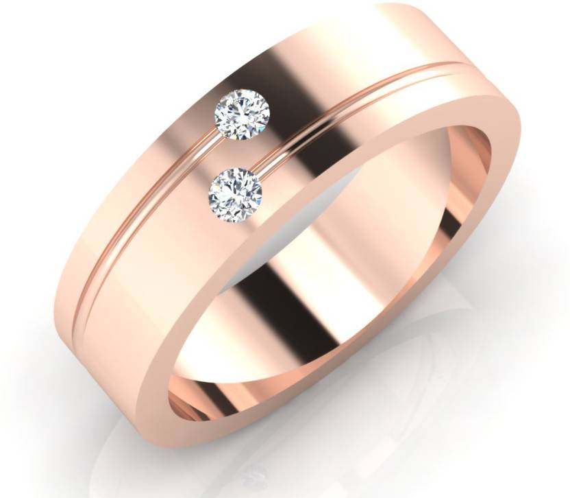 IskiUski The Dayton Gold Ring 18kt Swarovski Zirconia Rose Gold