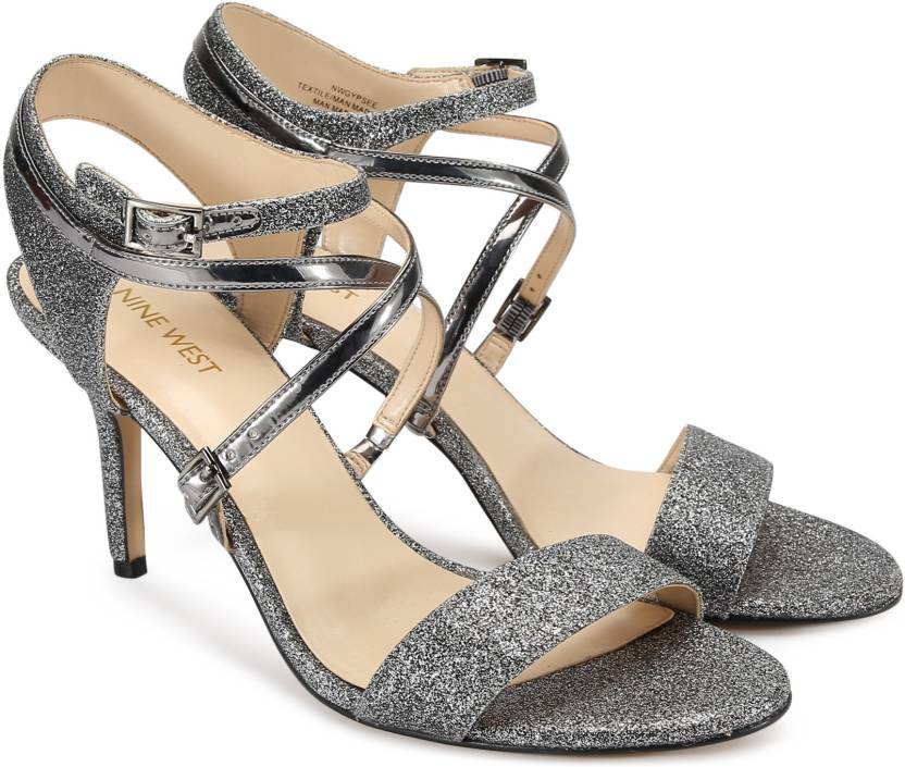 7c8e6a14a22 Nine West Women PEWTER Heels - Buy PEWTER Color Nine West Women PEWTER Heels  Online at Best Price - Shop Online for Footwears in India