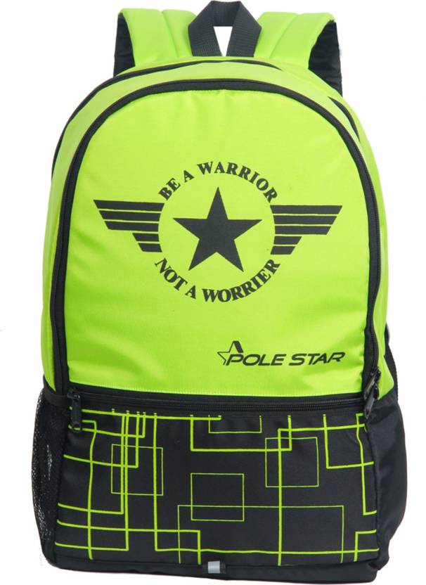 9739eb66bab7 Pole Star HERO 32 L Backpack Fluro Green - Price in India