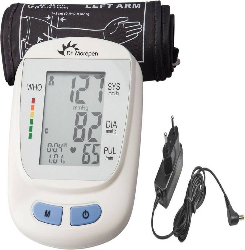 0dd0f66b7 Dr. Morepen BP 09 Fully Automatic BP Monitor With Free AC DC Adaptor    Charger (Only On KNEXMART ) Health Care Appliance Combo Price in India -  Buy Dr. ...