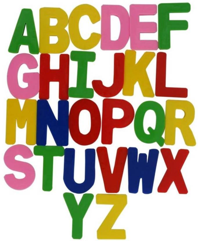 fe9097879 Pari Collection Kids Alphabet Letters (COLOURFUL) Price in India ...