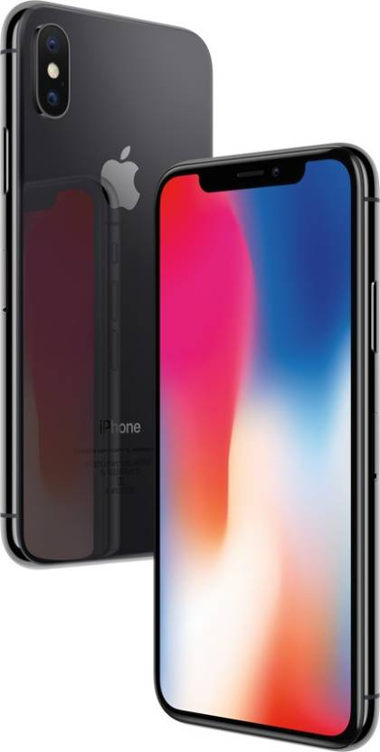 Apple iPhone X (Space Gray, 64 GB)