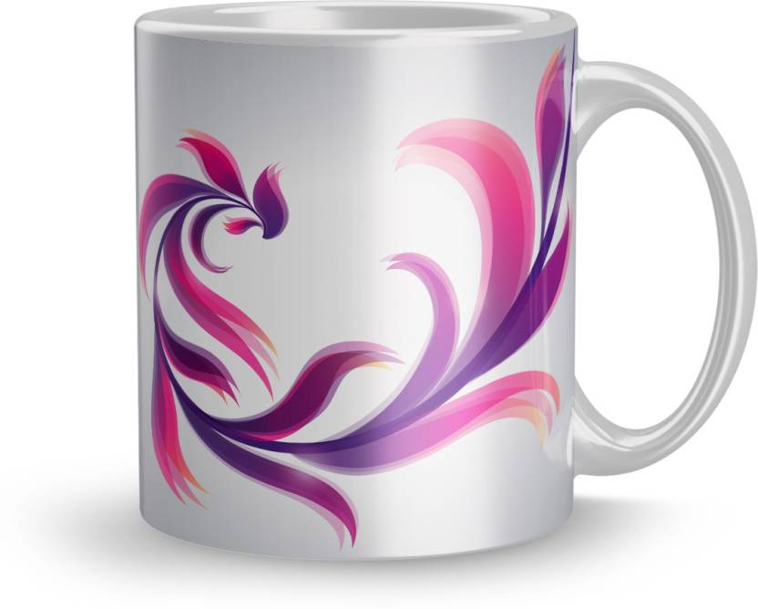 Apoorva Exclusive 320ml Ceramic Printed Mug Gift For Couple Gift For