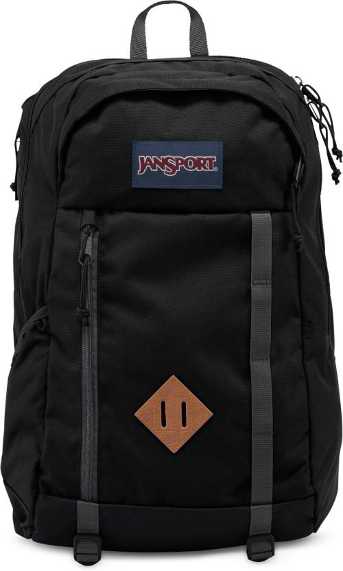 31a82ac582 JanSport Foxhole 28 L Laptop Backpack Black - Price in India ...
