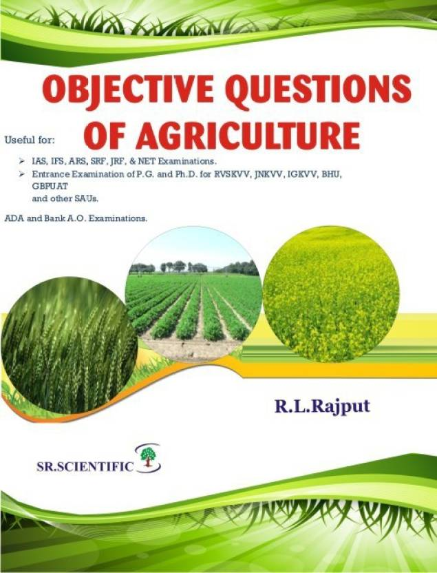 Objective Questions of Agriculture: Buy Objective Questions