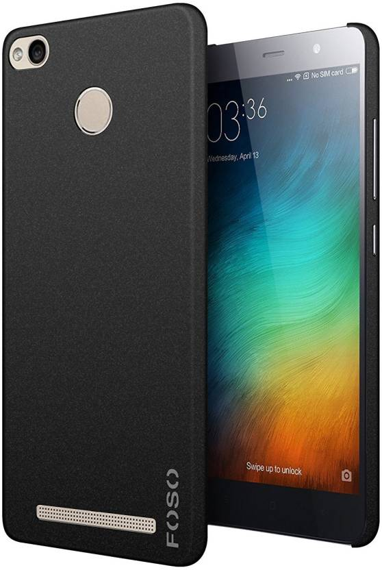 online retailer abd15 22d71 FOSO Back Cover for Mi Redmi 3S Prime
