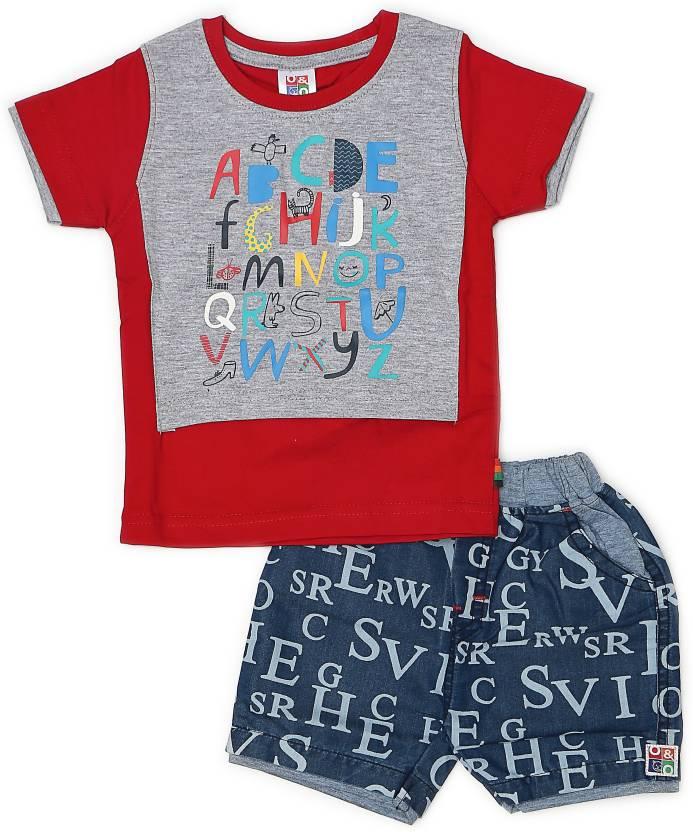 c0b6f5cb85 Georgi Kids Nightwear Boys Printed Cotton Price in India - Buy ...
