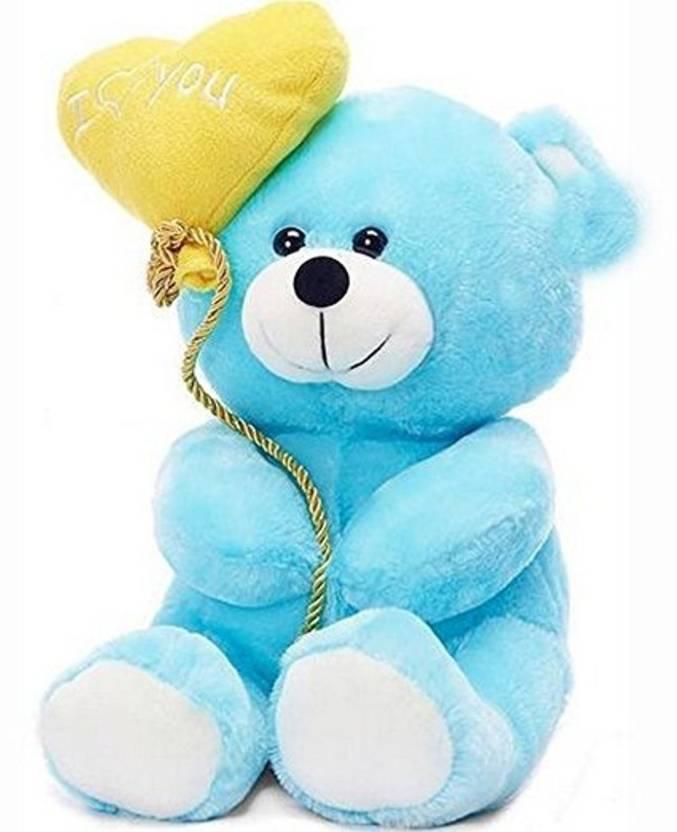 Samayra toys sky blue teddy bear with heart i love you 25 cm sky samayra toys sky blue teddy bear with heart i love you 25 cm altavistaventures Images