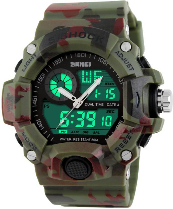 Skmei Gmarks- 1029Camfg Sports Watch - For Men & Women