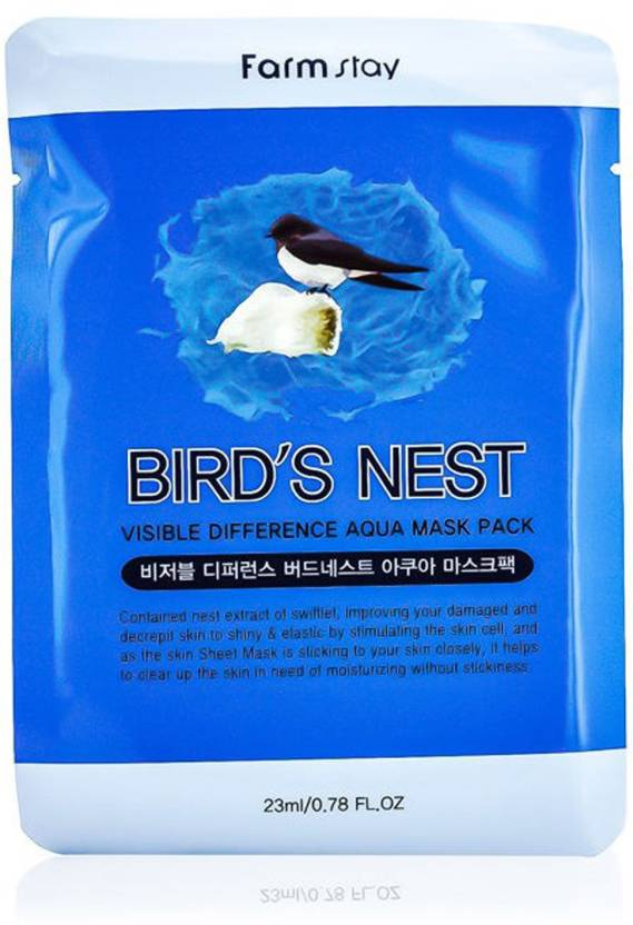 Farm Stay - Visible Difference Mask Sheet (Bird Nest) One +