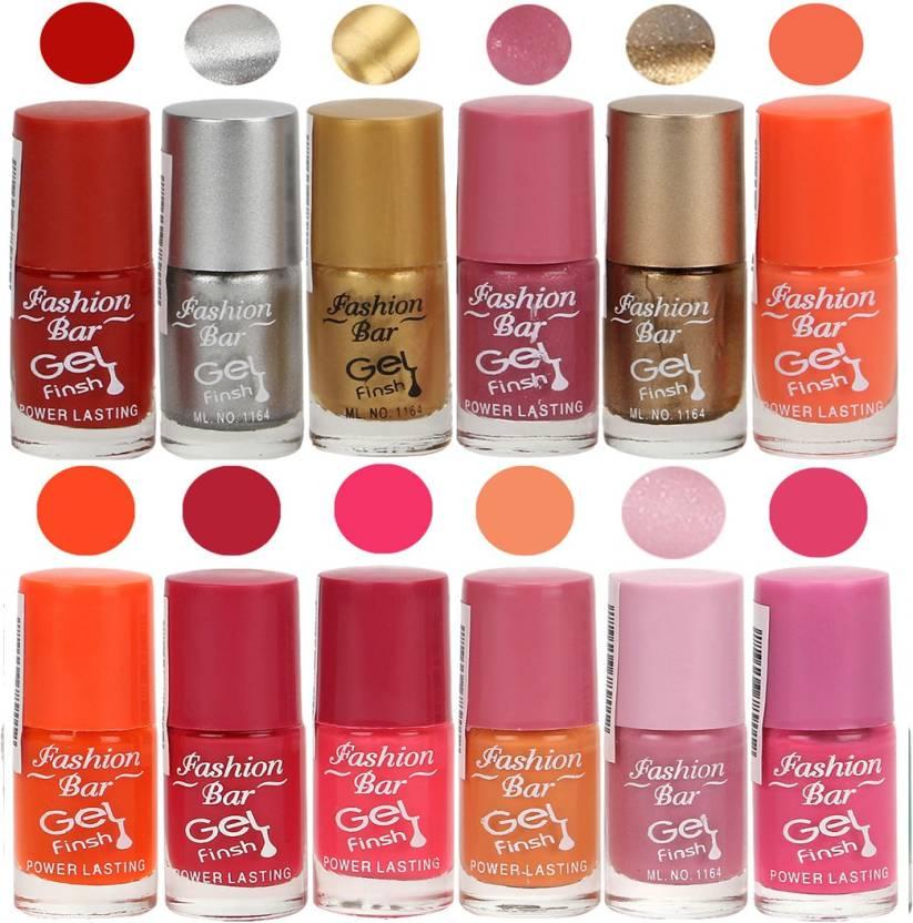 Fashion Bar Neon Red,Silver,Golden,Shimmer Pink,Copper,Neon Orange ...