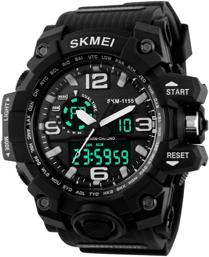 Skmei AD1155BLK ANADIG Watch - For Men