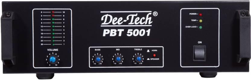 Dee Tech PBT-5000 500 W AV Power Amplifier Price in India