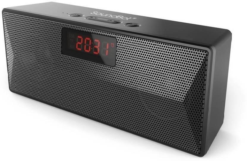 6c34decd2f5 Buy SoundBot SB1023 Bluetooth FM Radio Alarm Clock Bluetooth Speaker ...