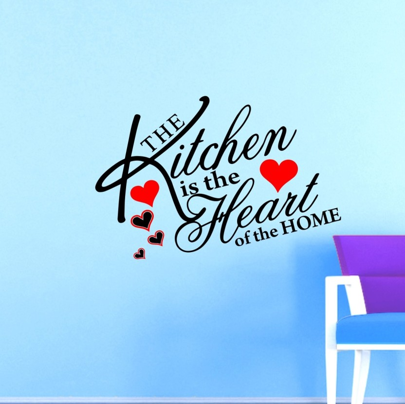 MADHUBAN DÉCOR Large kitchen quotes wall art ( Wall Coverage Area - Height 60 cms X Width 90 cms )(Pack of 1) Sticker (Pack of 1)  sc 1 st  Flipkart & MADHUBAN DÉCOR Large kitchen quotes wall art ( Wall Coverage Area ...