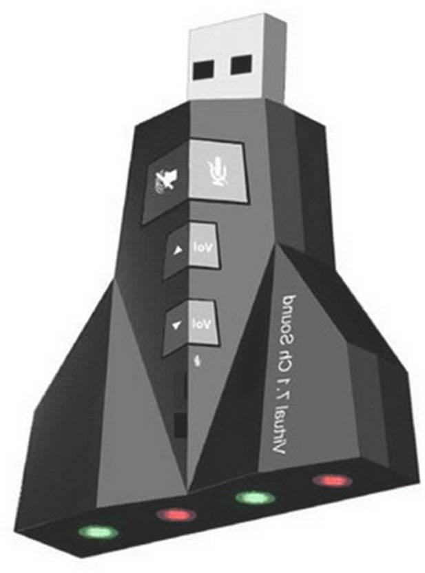 ReTrack Airplane 3D External 7.1 Channel USB Audio Laptop PC Mac book Sound Card USB Adapter