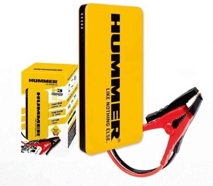 Hummer Multifunctional Power Bank 6000mah Jump Starter Led Light