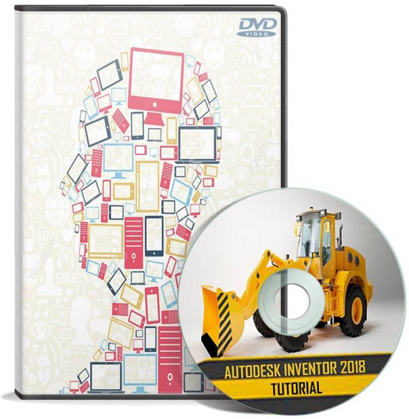 Red Chips Autodesk Inventor 2018 Tutorial DVD - Red Chips