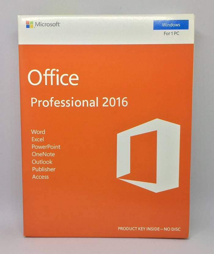 microsoft office plus professional 2016