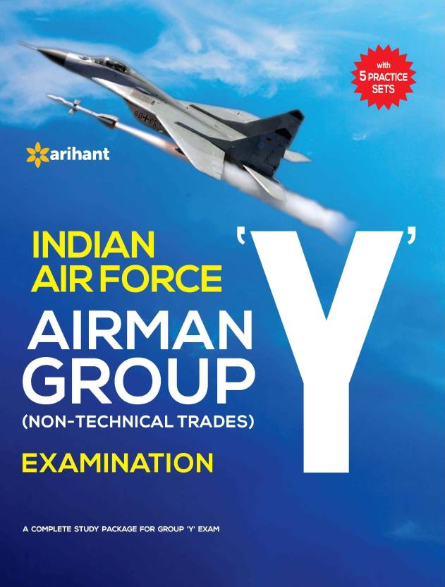 b562959761 Indian Air Force AIRMAN Group Y Non-Technical Trades: Buy Indian Air ...