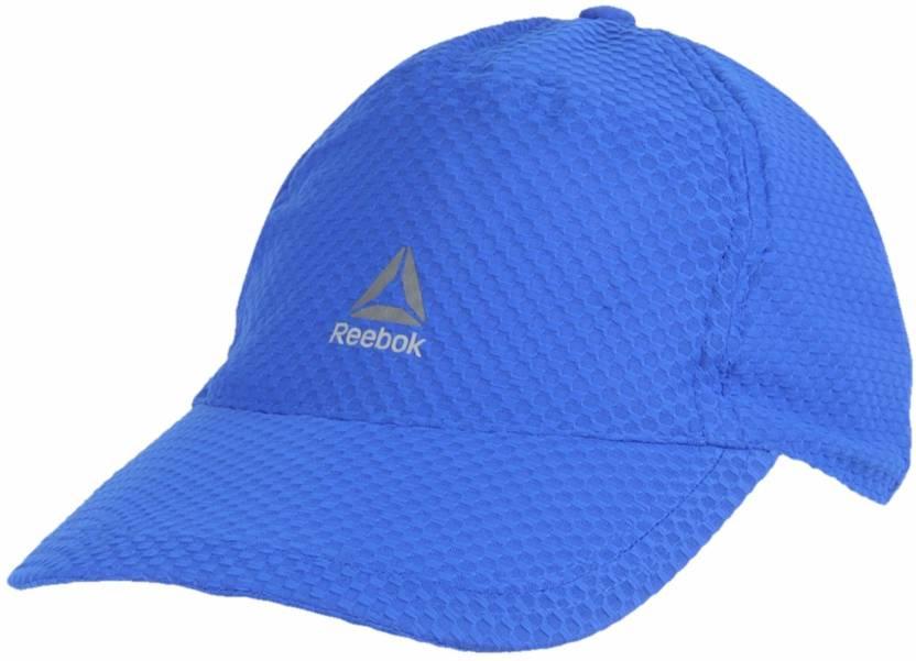 960c3388 REEBOK Solid Blue Unisex MESH Cap - Buy REEBOK Solid Blue Unisex MESH Cap  Online at Best Prices in India | Flipkart.com