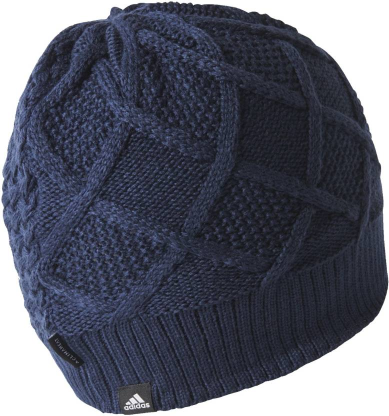 ff208bfaecd ADIDAS Solid CLMHT LINED BEANIE Cap - Buy ADIDAS Solid CLMHT LINED BEANIE  Cap Online at Best Prices in India