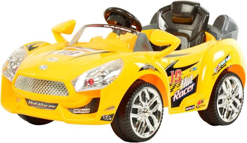 Toyhouse Hot Racer Car 6v Rechargeable Car Battery Operated Ride On