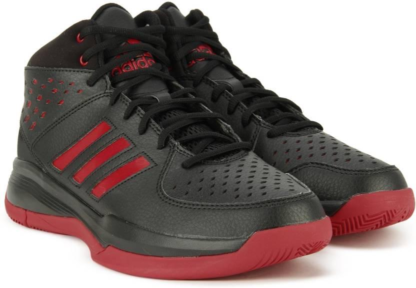 adidas corte fury scarpe da basket per gli uomini comprano cblack / cblack