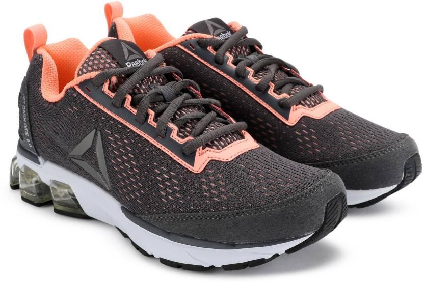 47a2af16d14 REEBOK JET DASHRIDE 5.0 Running Shoe For Women - Buy GREY MELON ...