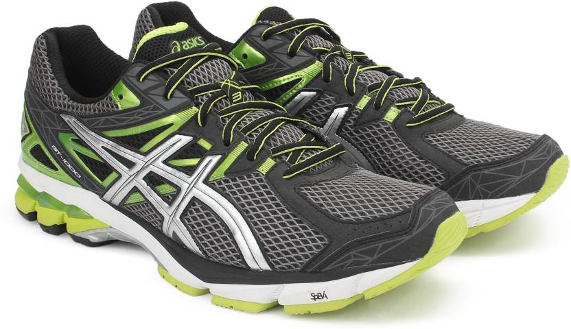 Asics GT-1000 3 Running Shoes For Men - Buy NING FLASH GREEN Color ... 2627054cf4