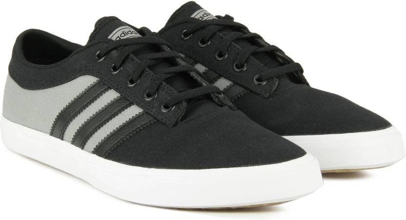 meet ad839 ba184 ADIDAS ORIGINALS SELLWOOD Sneakers For Men (Black, Grey)