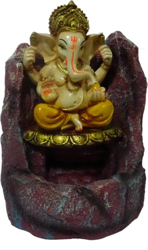 Boon BOON Pathar Ganesha Fountain Decorative Showpiece - 33 cm Price ...