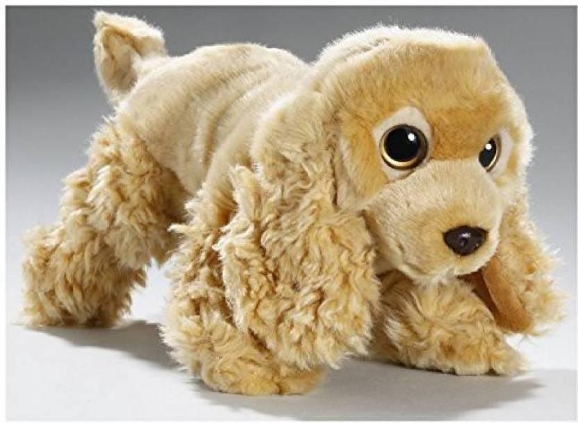 Carl Dick Stuffed Animal Cocker Spaniel Dog Plush Toy, Soft Toy - 10 inch  (Brown)