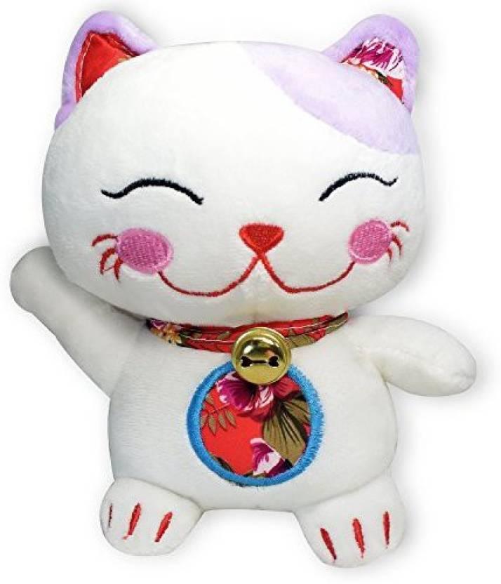 Idragoninc Fortune Lucky Cat Maneki Neko Soft Plush Stuffed Animal
