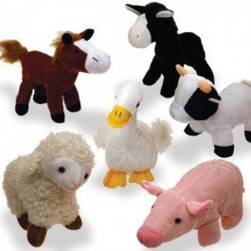 Hunson Trading Company Animal Toys On Amazon Stuffed Farm Animals